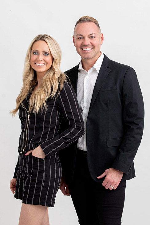 Travis Bryan and Brooke Gingerich, Owners of Nicole Bryan Hair Salon